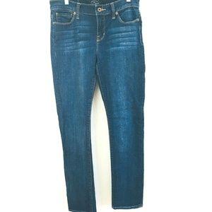Lucky Brand Brooke Straight Leg Jeans 8